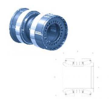 Fersa F200001 tapered roller bearings