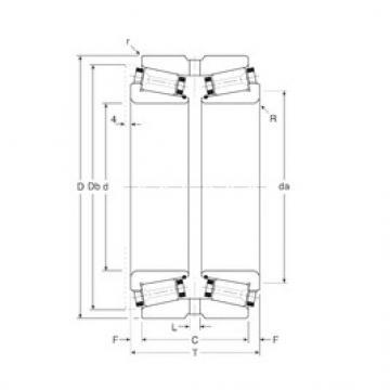 Gamet 115177X/115227XG tapered roller bearings