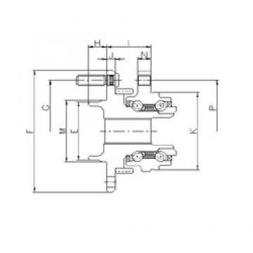 ILJIN IJ123073 angular contact ball bearings