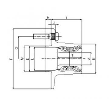 ILJIN IJ112032 angular contact ball bearings
