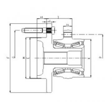 ILJIN IJ223023 angular contact ball bearings