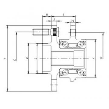 ILJIN IJ123014 angular contact ball bearings